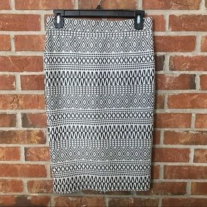 Mimi Chica Tribal Pencil Skirt